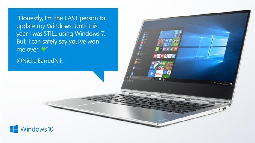 switched to windows 10 testimonial 850 optimized